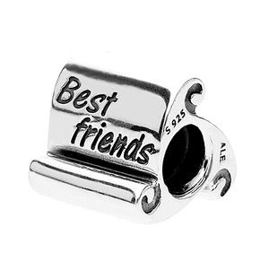 Pandora Best Friends Scroll Charm